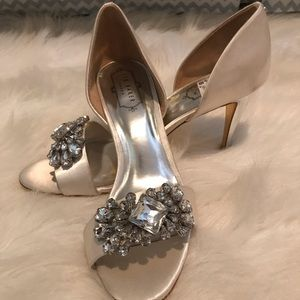 Ted Baker peep toe high heels